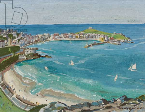 St Ives (oil on canvas)