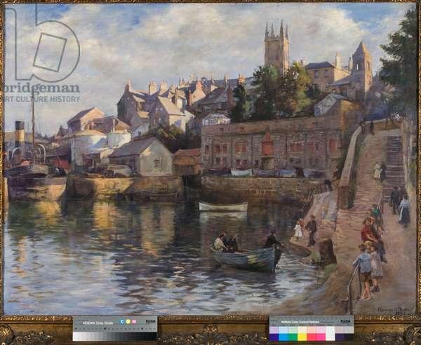 The Inner Harbour - Abbey Slip, 1921 (oil on canvas)
