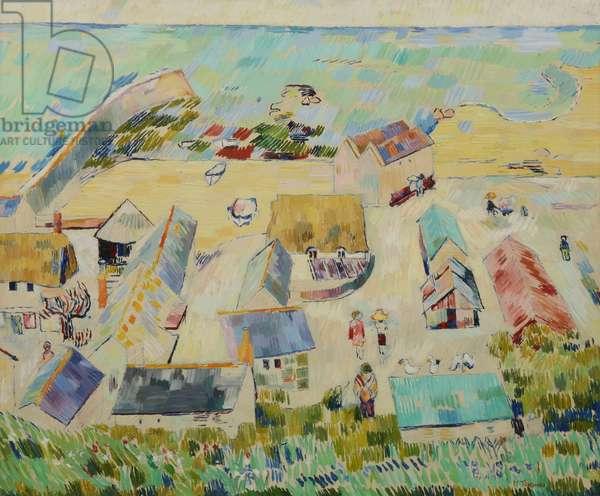 Sennen Cove, c.1980-95 (oil on board)