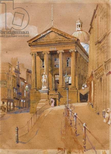 Market House, Penzance (w/c & gouache on paper)