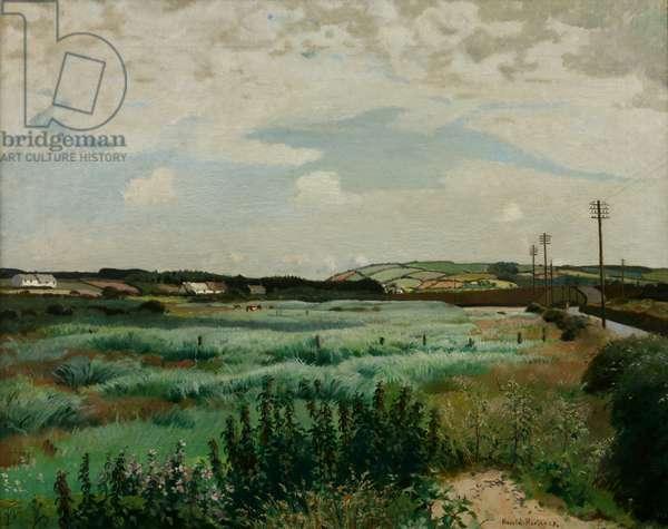 Marazion Marsh, 1923 (oil on canvas)