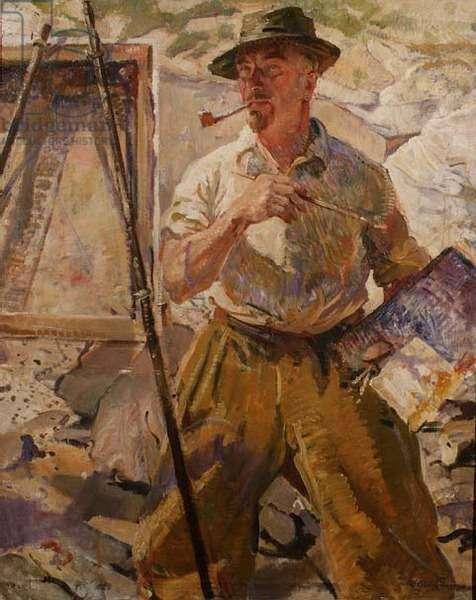 Portrait of Stanley Gardiner, 1945