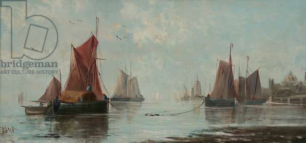 Fishing Boats (oil on board)