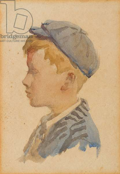 Portrait of Alec, c.1904 (w/c on paper)