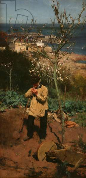 The Sunny South, 1885 (oil on canvas)