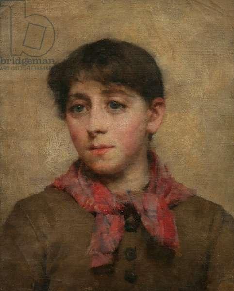 A Newlyn Maid (oil on canvas)