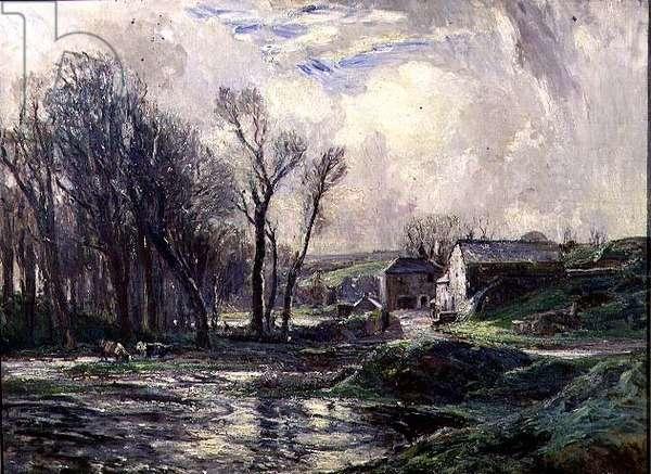 January, the Mill at Lamorna
