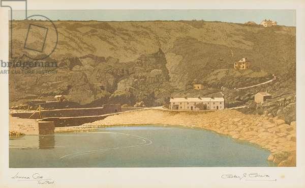 Lamorna Cove (aquatint)