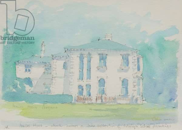 Penlee House, 1991 (w/c on paper)