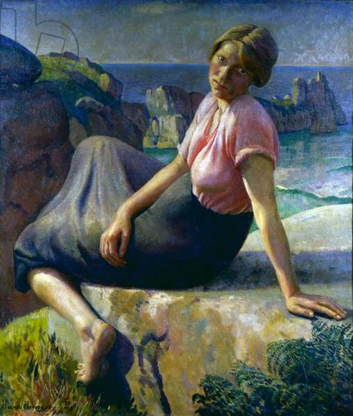 Girl on a Cliff, 1926