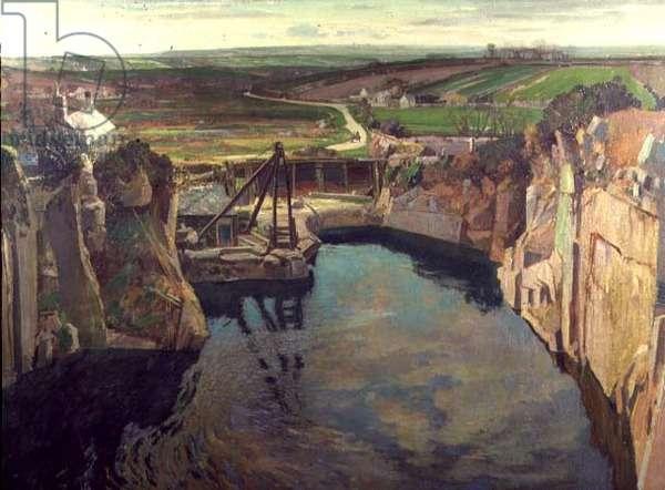 Kerris Quarry, 1937