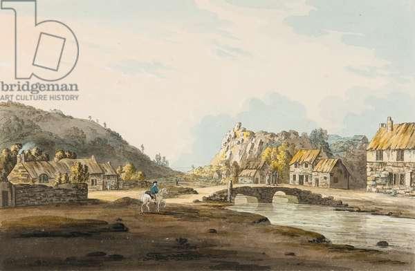 Tolcarne Bridge [Newlyn], c.1804 (w/c on paper)