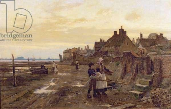 Bosham Harbour at Low Tide, 1901