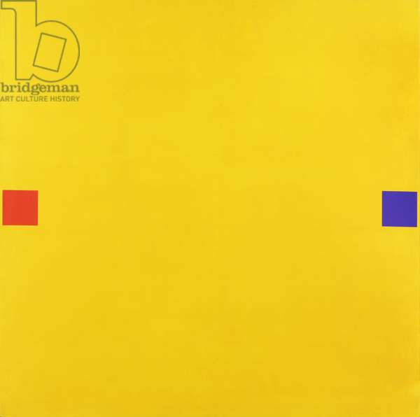 Yellow I, 1968 (acrylic on cotton duck)