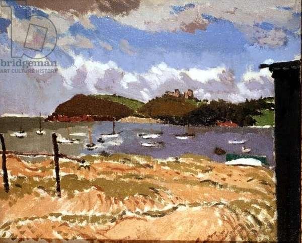 Carmarthen Bay, 1937 (oil on canvas)
