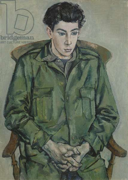 Portrait of David Tindle, 1952 (oil on canvas)