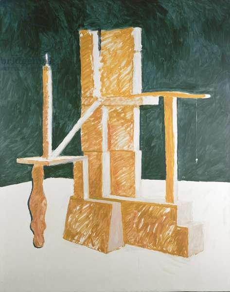 Judge, 1982 (oil on canvas)