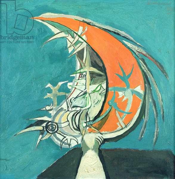 Thorn Head, 1947 (oil on canvas)