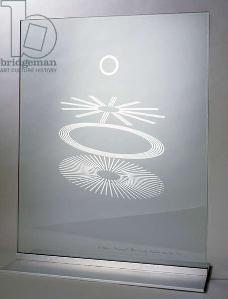 The Oculist Witnesses, 1967 (mirror silver enclosed in laminate plate glass)