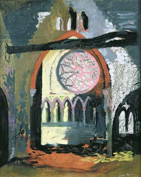 Redland Park Congregational Church, Bristol, 1940 (oil on canvas)
