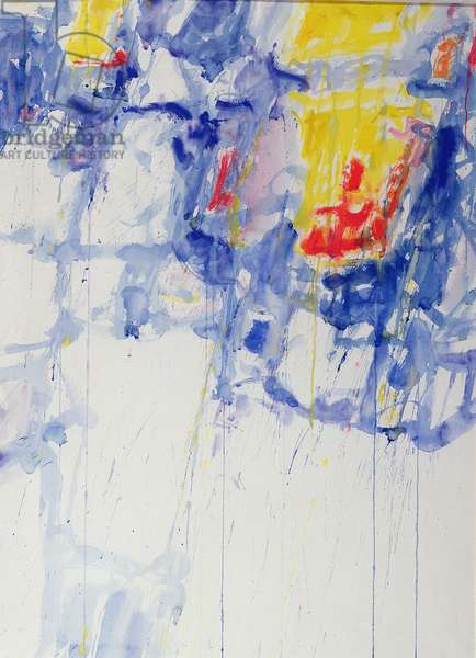 Composition, 1957 (w/c & gouache on paper)