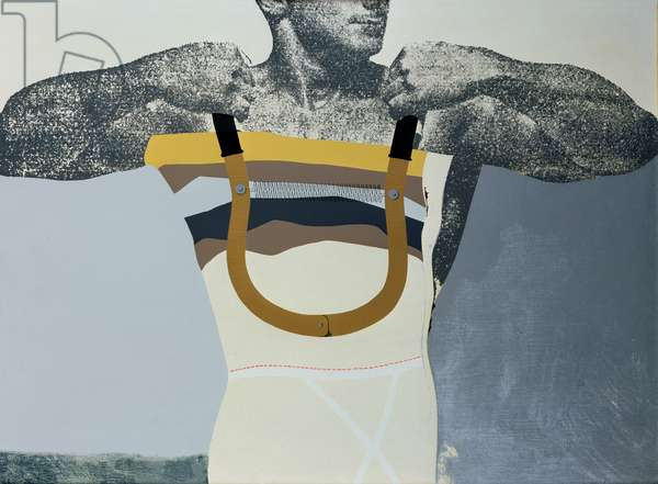 Adonis in Y-Fronts, 1962-63 (silk screenprint on paper)