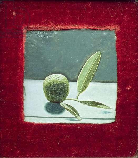 Unripe Tangerine, 1946 (oil on board)