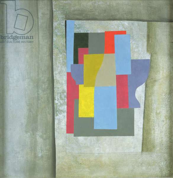 1946 (cerulean abstraction)