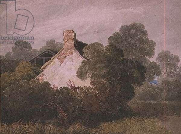A Cottage c.1827 (w/c)