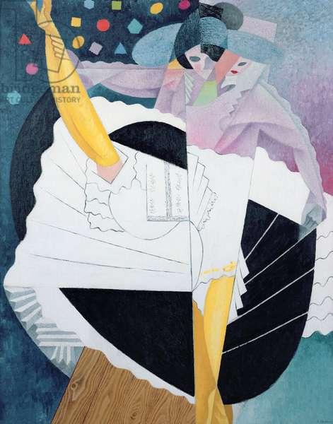 Danseuse No.5, 1915/16 (oil on canvas)