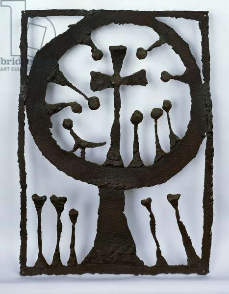 God as the Centre of Nature, 1953 (iron)