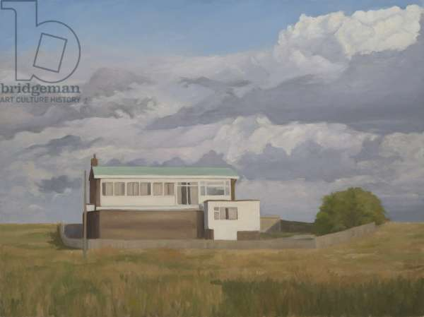 Channel House, Sandwich Bay, 2013 (oil on canvas)