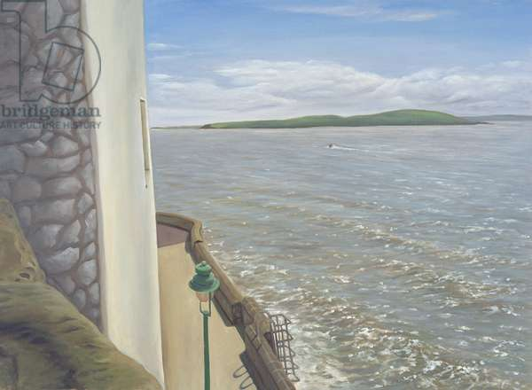 The Sea at Weston-super-Mare, Summer's Morning, 2007 (oil on linen)