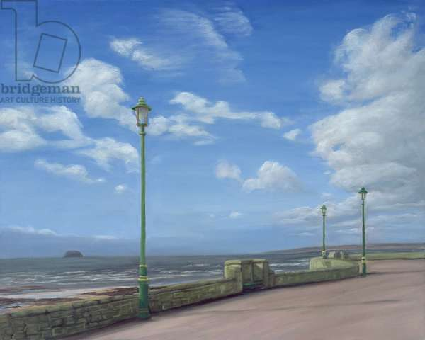 The Promenade at Weston-super-Mare, 2007 (oil on linen)