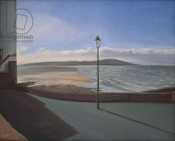 Lampost, 2007 (oil on canvas)