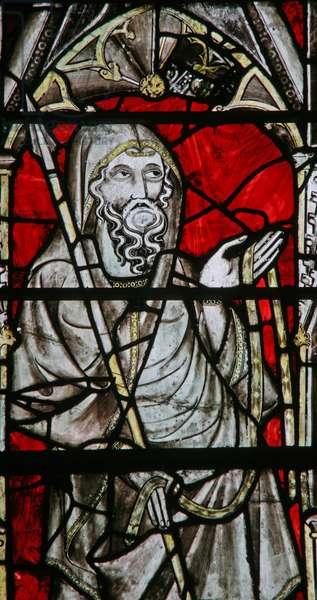 Window Ew depicting St Thomas (stained glass)