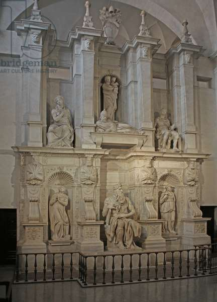 Tomb of Julius II, 1515 (marble)