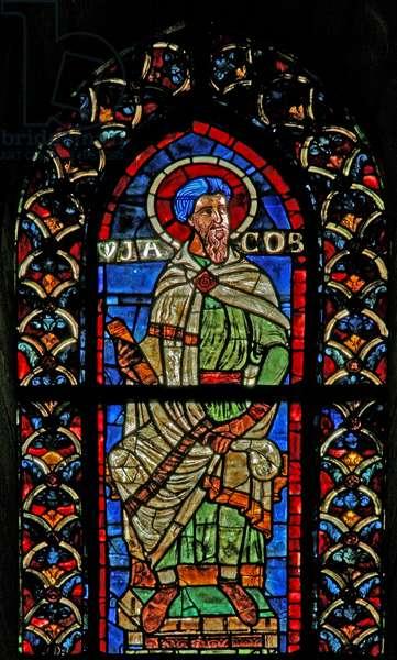 Window w210 depicting Jacob (stained glass)