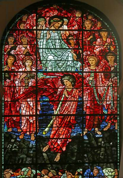 The Last Judgement, 1885-1897 (stained glass)