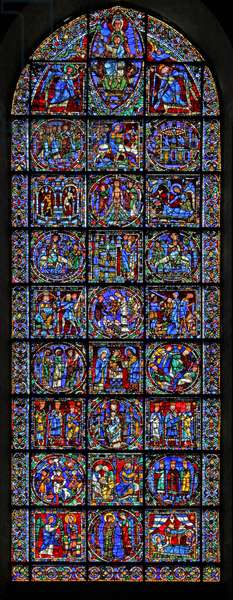 The Life of Christ window (w50) (stained glass)