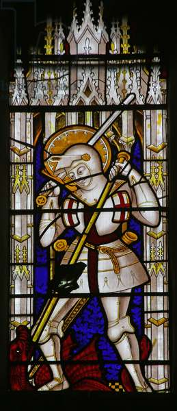 St George (stained glass)