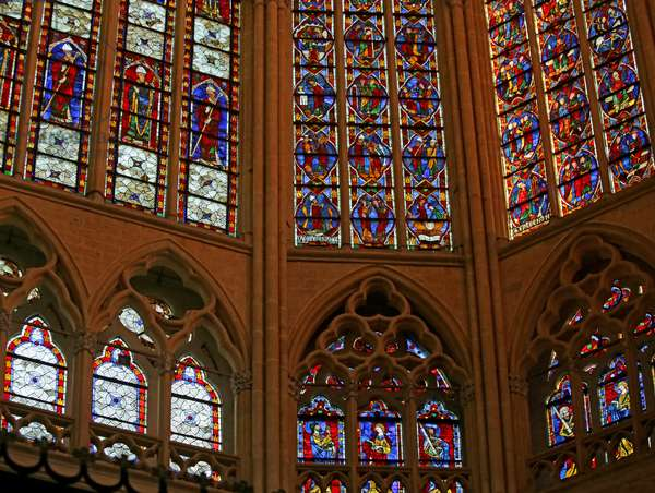 North Side of the Est End of the Choir Clerestory (stained glass)