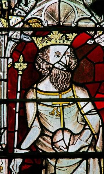 Window Ew depicting Edward II (stained glass)