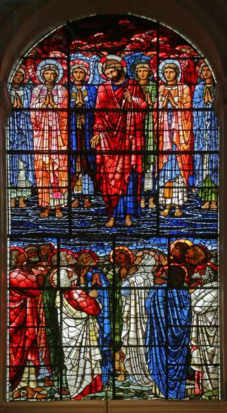 The Ascension, 1885-1897 (stained glass)
