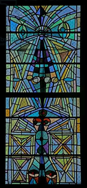Window on the Est Side of the South Transept (stained glass)