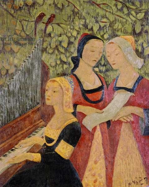 Breton Women (oil)