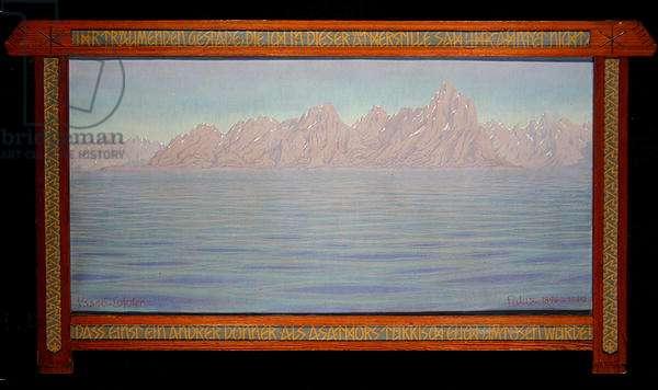 Vaago-Lofoten, 1940 (oil on canvas)
