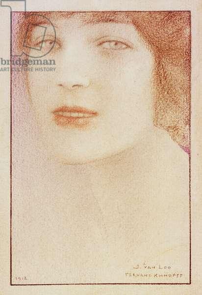 Portrait of a Woman, 1912 (pastel on paper)