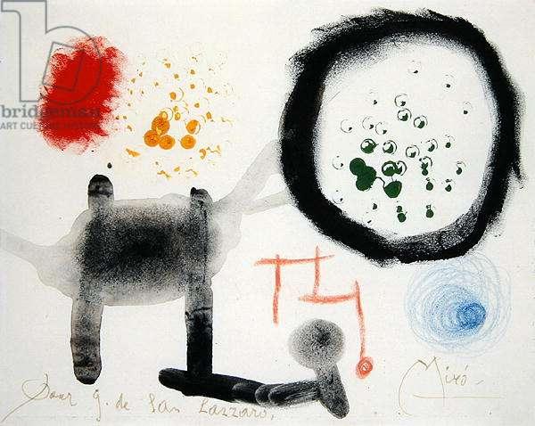Untitled, 1949 (gouache, chalk & w/c on paper)