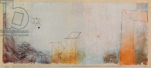 Untitled, 1915 (w/c with pen on paper mounted on cardboard)